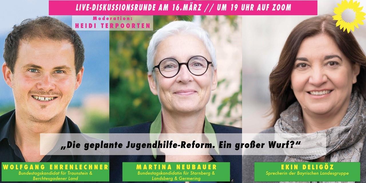 16.03.2021 um 19:00 Uhr Die geplante Jugendhilfe-Reform – ein großer Wurf?