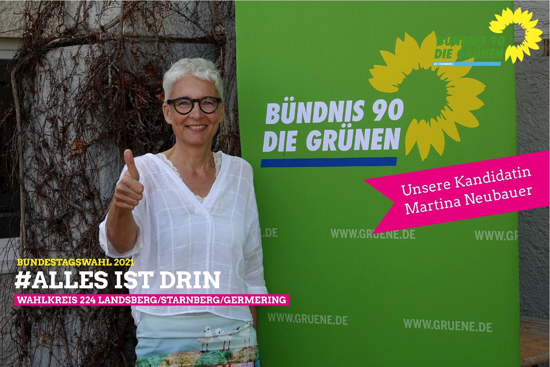 Martina Neubauer – Bundestagskandidatin für den Wahlkreis 224