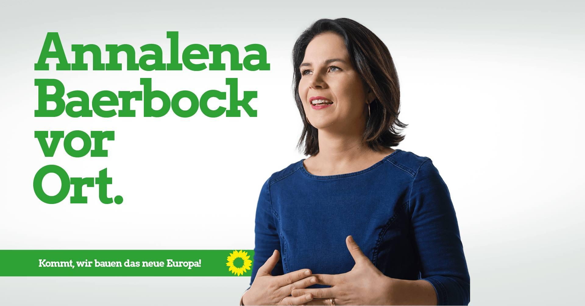 21.05.2019, 15:00 – 16:00 Annalena Bärbock kommt nach Landsberg