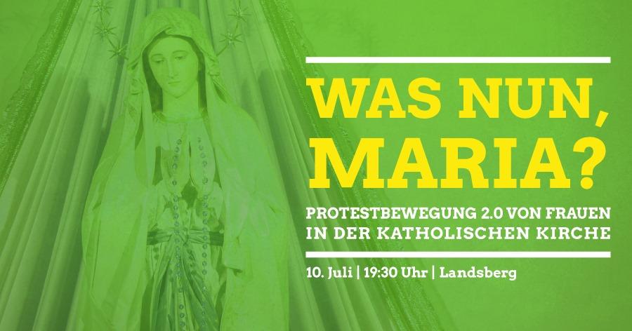 "10.07.2019: Podiumsdiskussion ""Was nun, Maria?"""