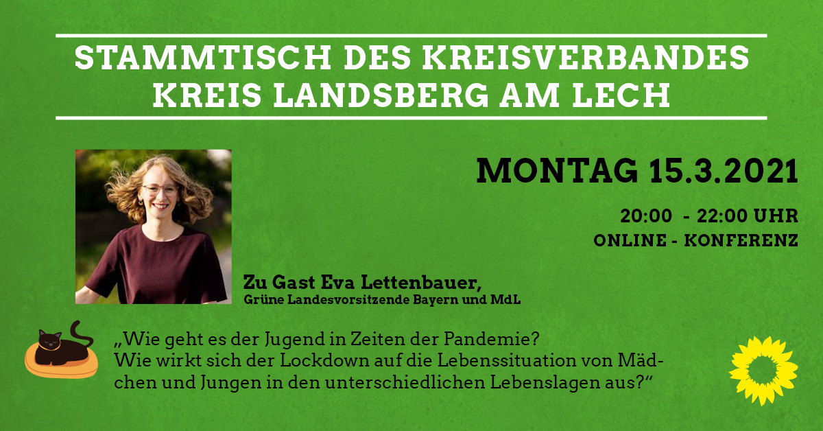 Digitaler Kreis-Stammtisch Zu Gast Eva Lettenbauer MdL