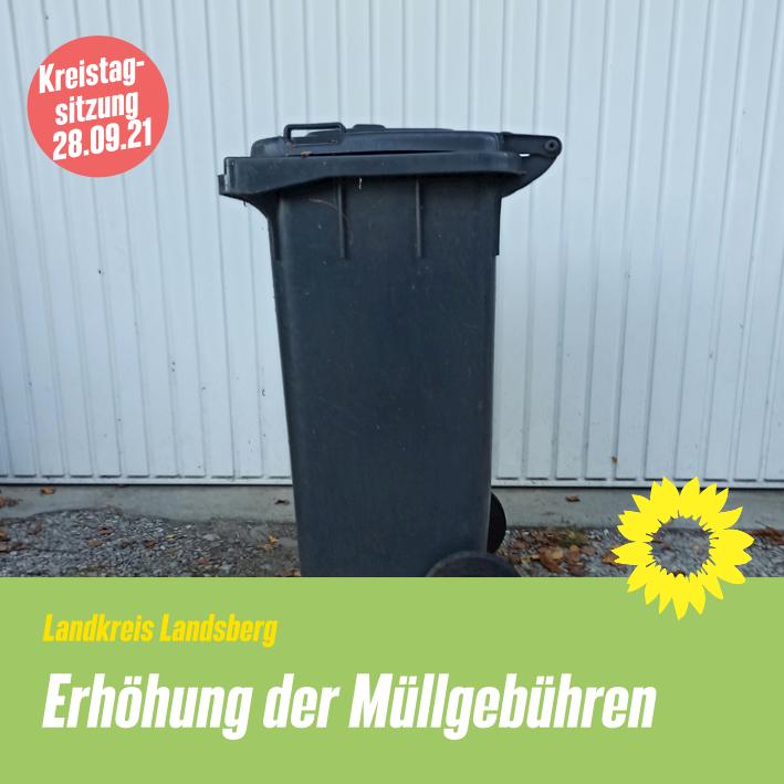 Erhöhung der Müllgebühren