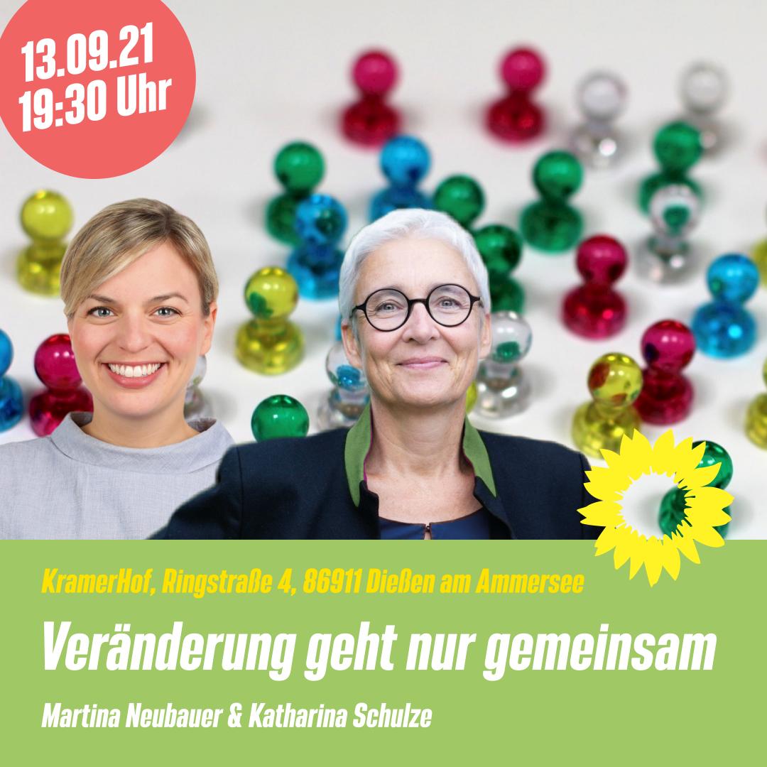 Grünes Forum mit Katharina Schulze am 13. September